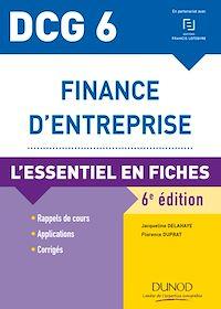 DCG 6 - Finance d'entreprise - 6e éd.