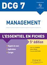 Télécharger le livre :  DCG 7 - Management - 5e ed