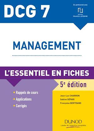 Téléchargez le livre :  DCG 7 - Management - 5e ed