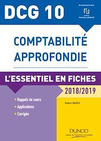 Télécharger le livre : DCG 10 - Comptabilité approfondie - 8e éd.