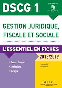 DSCG 1 - Gestion juridique, fiscale et sociale 2018/2019 - 8e éd.