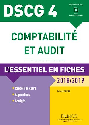 Téléchargez le livre :  DSCG 4 - Comptabilité et audit - 7e éd.