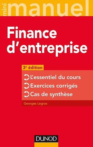 Téléchargez le livre :  Finance d'entreprise - 3e éd.