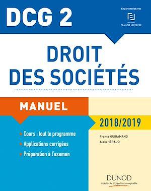 Téléchargez le livre :  DCG 2 - Droit des sociétés 2018/2019