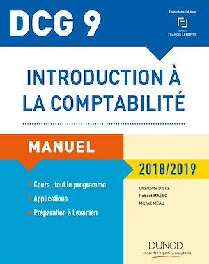 Téléchargez le livre :  DCG 9 - Introduction à la comptabilité 2018/2019