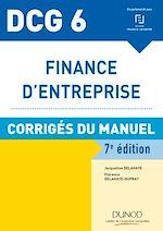 Télécharger le livre :  DCG 6 - Finance d'entreprise - 7e éd. - Corrigés du manuel