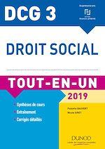 Télécharger le livre :  DCG 3 - Droit social 2019 - 11e éd.