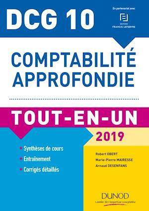 Téléchargez le livre :  DCG 10 - Comptabilité approfondie - 2019