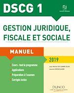 Télécharger le livre :  DSCG 1 - Gestion juridique, fiscale et sociale 2019
