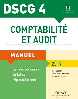Téléchargez le livre :  DSCG 4 - Comptabilité et audit 2019