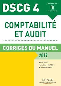DSCG 4 - Comptabilité et audit - 2019 - Corrigés