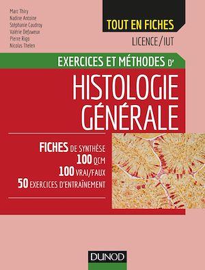 Téléchargez le livre :  Histologie générale