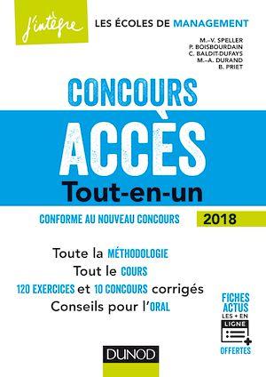 Téléchargez le livre :  Concours Accès - 5e éd.