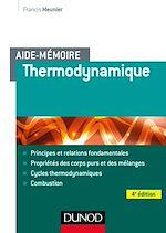 Télécharger le livre :  Aide-mémoire - Thermodynamique - 4e éd