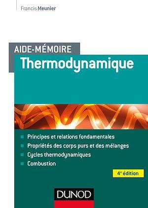 Téléchargez le livre :  Aide-mémoire - Thermodynamique - 4e éd