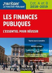 Les finances publiques 2018-2019 - 3e éd.