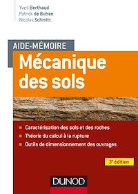 Aide-mémoire - Mécanique des sols - 3e éd.