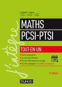Maths PCSI-PTSI - 2e éd.