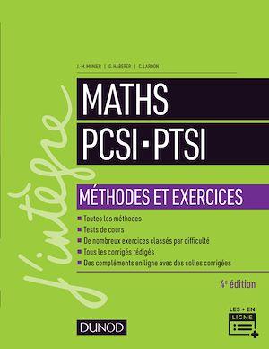 Téléchargez le livre :  Maths PCSI-PTSI - Méthodes et exercices- 4e éd.