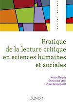 Télécharger le livre :  Pratique de la lecture critique en sciences humaines et sociales
