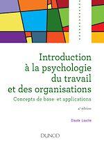Télécharger le livre :  Introduction à la psychologie du travail et des organisations