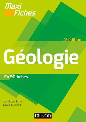 Téléchargez le livre :  Maxi fiches - Géologie - 4e éd.