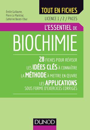 Téléchargez le livre :  Biochimie - Licence 1 / 2 / PACES