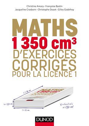 Téléchargez le livre :  Maths - 1350 cm3 d'exercices corrigés pour la Licence 1