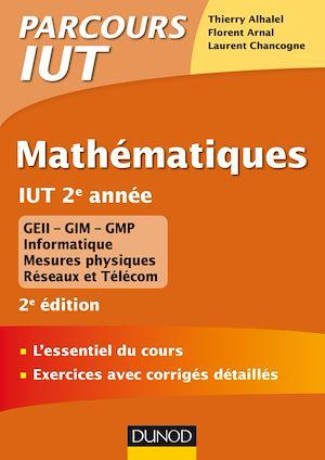 Téléchargez le livre :  Mathématiques IUT 2e année - 2e éd.
