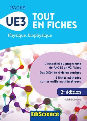 Téléchargez le livre :  PACES UE3 Tout en fiches - 3e éd.