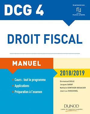 Téléchargez le livre :  DCG 4 - Droit fiscal 2018/2019 - Manuel