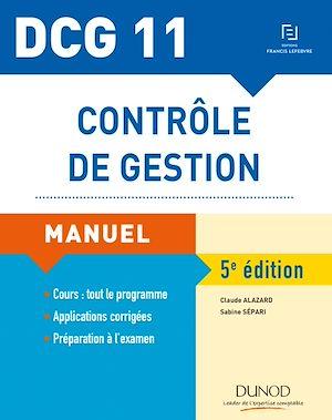 Téléchargez le livre :  DCG 11 - Contrôle de gestion - Manuel