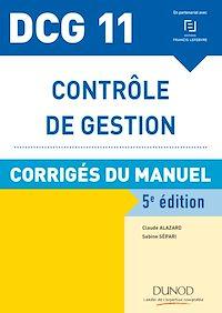 Télécharger le livre : DCG 11 - Contrôle de gestion - 5e éd.