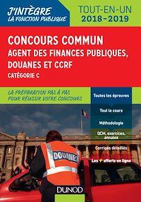 Concours commun Agent des finances publiques, douanes et CCRF - 2018/2019