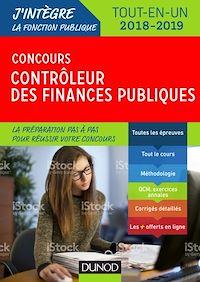 Concours Contrôleur des finances publiques - Tout-en-un - 2018-2019