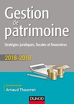 Télécharger le livre :  Gestion de patrimoine - 2018-2019