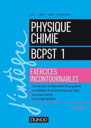 Téléchargez le livre :  Physique-Chimie BCPST 1 - Exercices incontournables