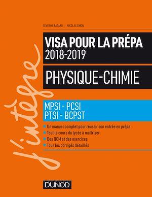 Téléchargez le livre :  Physique-Chimie - Visa pour la prépa 2018-2019