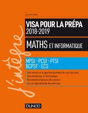 Téléchargez le livre :  Maths et informatique - Visa pour la prépa 2018-2019