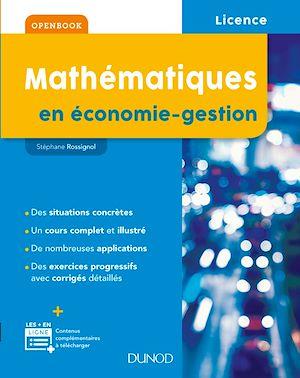 Téléchargez le livre :  Mathématiques en économie-gestion