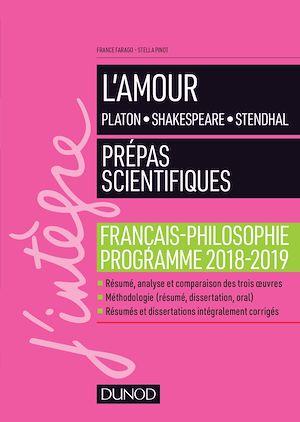 Téléchargez le livre :  L'amour - Epreuve de français-philosophie Prépas scientifiques 2018-2019