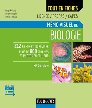 Téléchargez le livre :  Mémo visuel de biologie - 4e éd