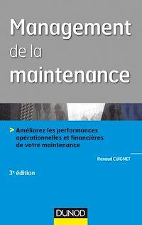 Télécharger le livre : Management de la maintenance - 3e éd.
