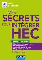 Télécharger le livre :  Mes secrets pour intégrer HEC - 3e éd.