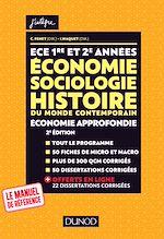 Télécharger le livre :  ECE 1 ET 2 - Economie, Sociologie, Histoire du monde contemporain. Economie approfondie - Tout-en-un