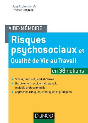 Téléchargez le livre :  Aide-mémoire - Risques psychosociaux et qualité de vie au travail