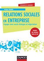 Télécharger le livre :  Relations sociales en entreprise