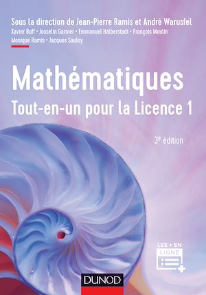 Téléchargez le livre :  Mathématiques Tout-en-un pour la Licence 1 - 3e éd