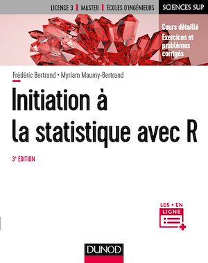 Téléchargez le livre :  Initiation à la statistique avec R - 3e éd.