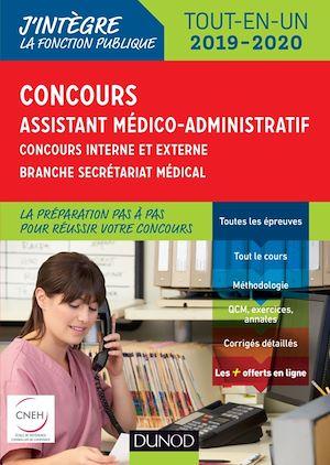 Téléchargez le livre :  Concours Assistant médico-administratif 2019-2020 Tout-en-un Catégorie B